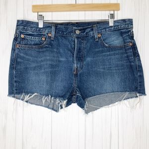 Levi's 501 Denim Cut Off Shorts
